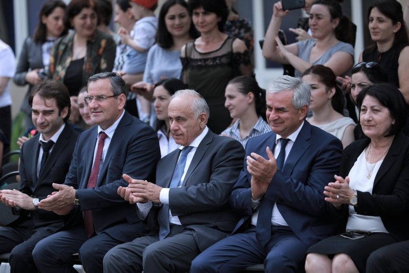 "The President Attended an Event Dedicated to the International Children's Day in the Kindergarten ""Ulybka"" (""A smile"")"