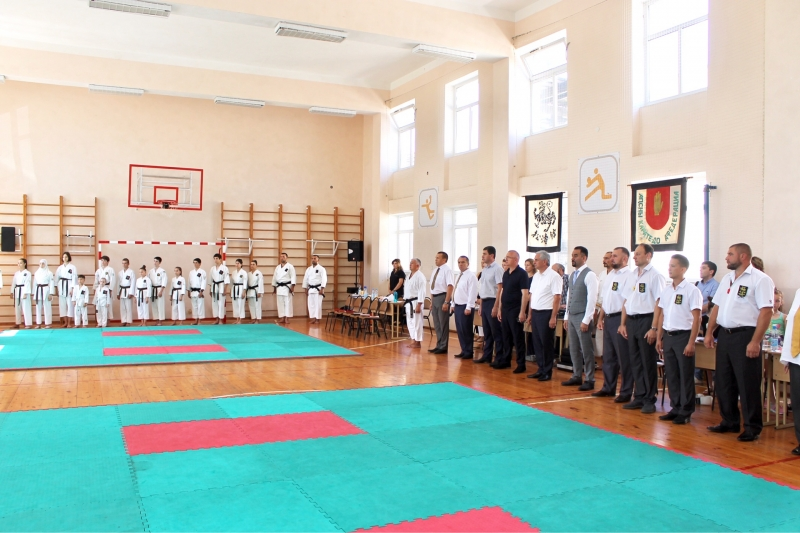 The President Attended the Opening of the Eastern European Karate Championship Shotokan Kase Ha