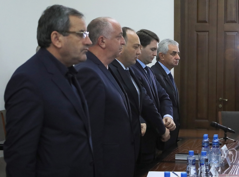 A Meeting with the Cabinet of Ministers
