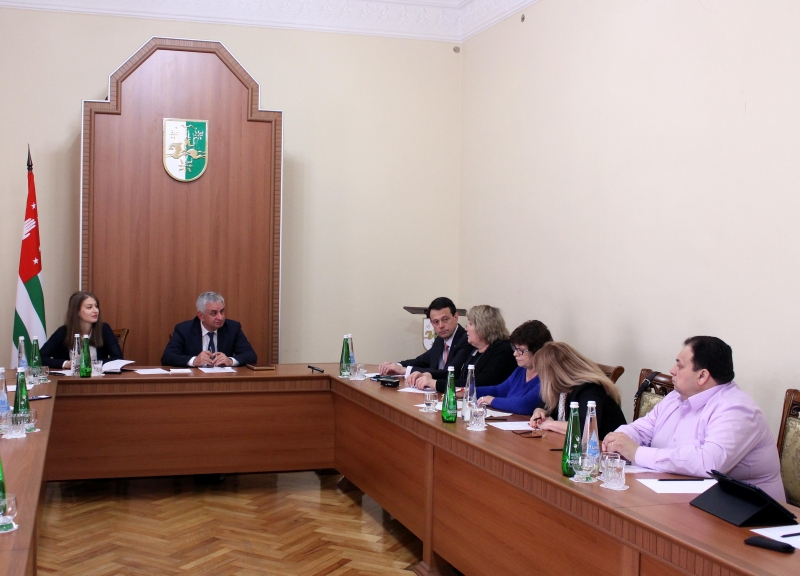 A Meeting with the Representatives of the Udmurt Republic