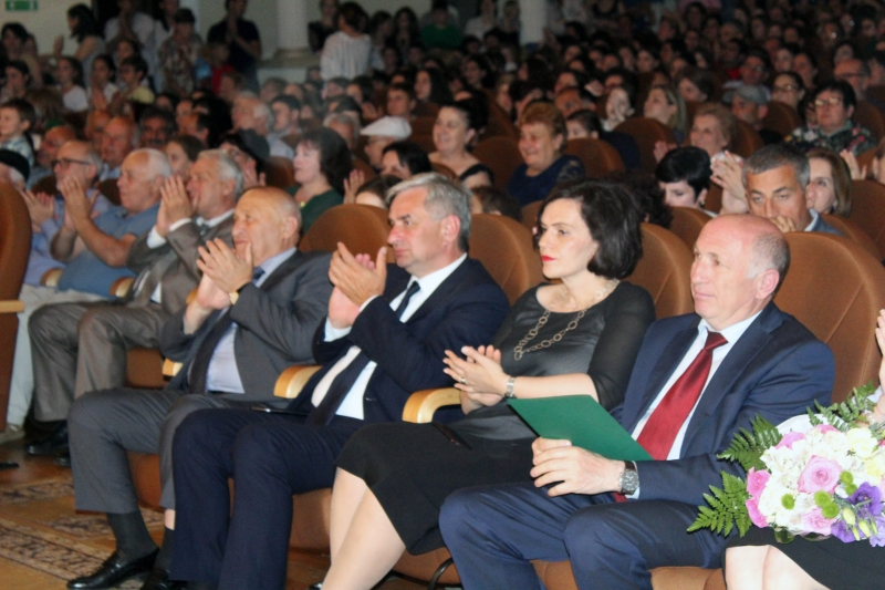 The President Attended a Concert Dedicated to the 60th Anniversary of the Sukhum State School of Culture