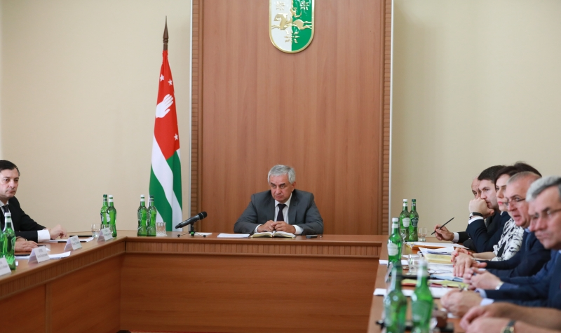 The President Held a Meeting of the Committee for the Preparation to the Celebration of the 25th Anniversary of Victory in the Patriotic War of the People of Abkhazia of 1992-1993 and the 10th Anniversary of the International Recognition of Independence