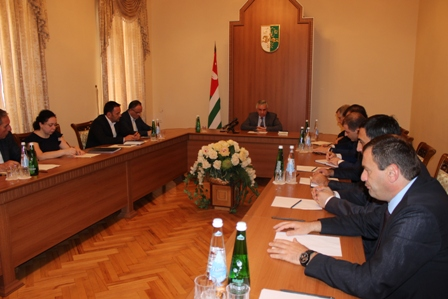 A Work Meeting on the Question of Administrating the Export Tax on Nuts