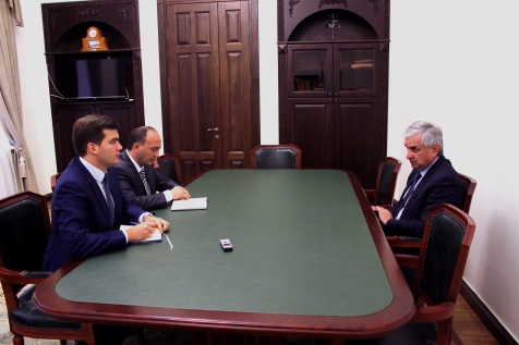 A Meeting with the Minister for Foreign Affairs