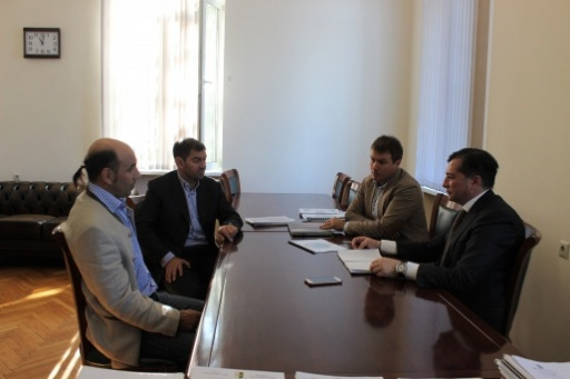 Vitali Gabnia Had a Meeting with the Members of the Motorsport Federation of the Republic of Abkhazia