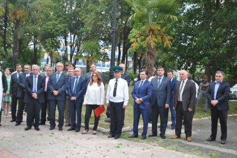 THE EVENT DEDICATED TO THE DAY OF THE BORDER GUARD OF RUSSIA