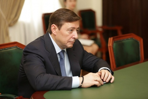 A Meeting with Deputy Prime Minister of the Russian Federation Alexander Khloponin