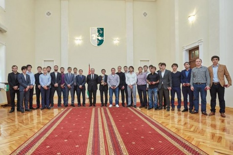 The Awards Ceremony of the Members of the National Football Team of Abkhazia