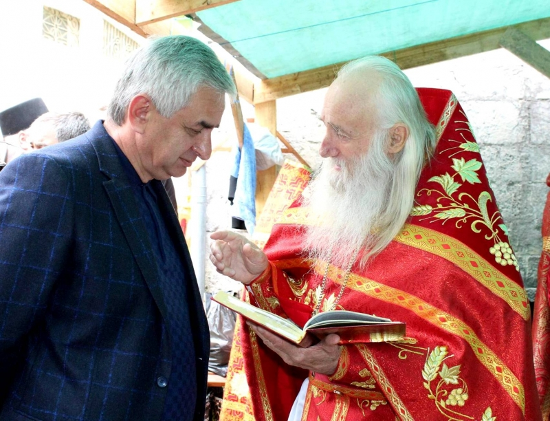 The President Attended a Festive Service on the Day of the Apostle Simon the Zealot