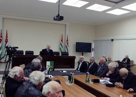 A Meeting with the Council of Elders of Abkhazia