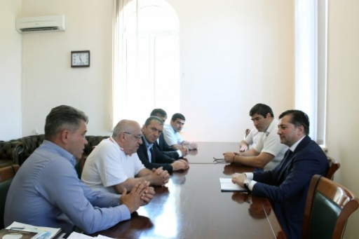 Vitali Gabnia Had a Meeting with the President of the Federation of All-Styles Karate of the Russian Federation Ramil Gabbasov