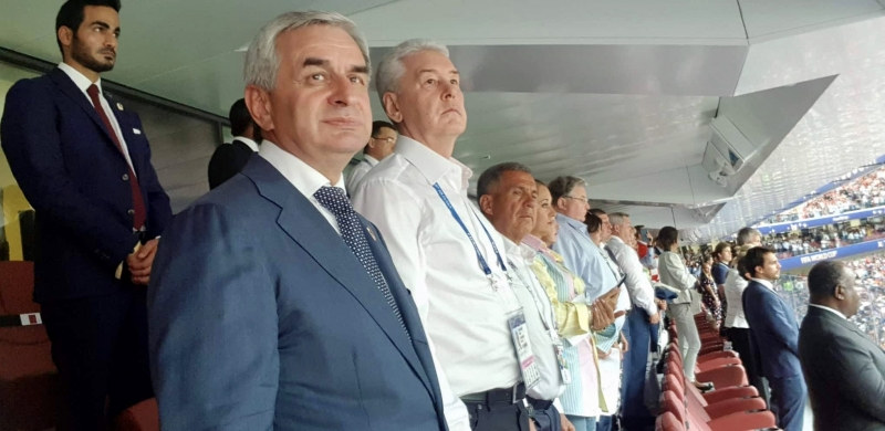 The President Attended the Closing Ceremony of the FIFA World Cup in Moscow