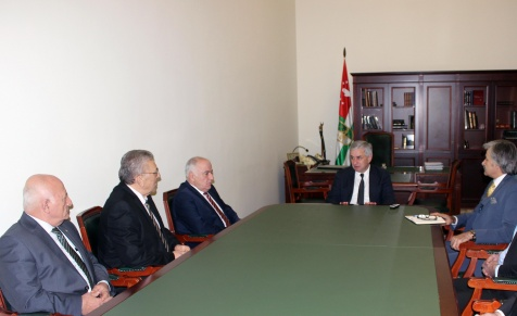 A Meeting with the Heads of the Federation of Abkhazian Cultural Centres in Turkey