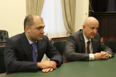 "A Meeting with the Management of the ""Sevkavrentgen–D"", OOO"