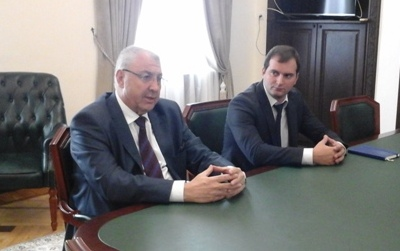 A Meeting with Omer Mersan-Marshyan, Representative of the Ministry of Foreign Affairs of Abkhazia in Bulgaria and the Balkan States