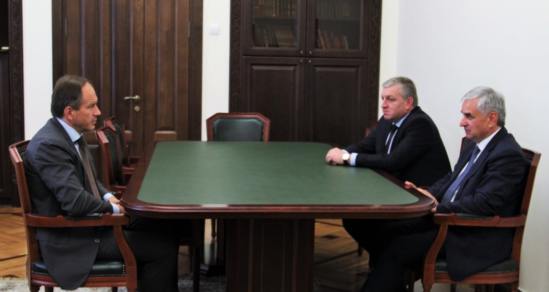 The President Had a Meeting with Minister of the Russian Federation for North Caucasus Affairs Lev Kuznetsov
