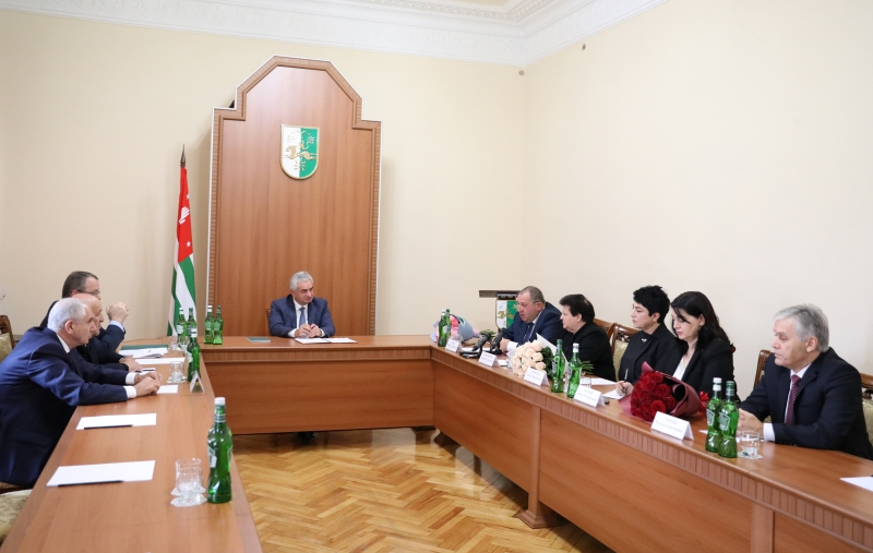 The President Had a Meeting with the Judges of the Constitutional Court