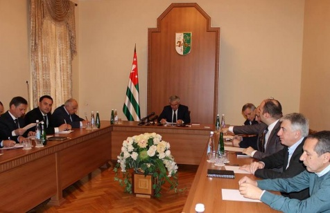 Raul Khadzhimba's Speech at the Meeting with the Representatives of Abkhazian Business