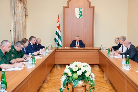 A Meeting on the Question of Visa-Free Entry to Abkhazia for Certain Categories of Foreign Nationals