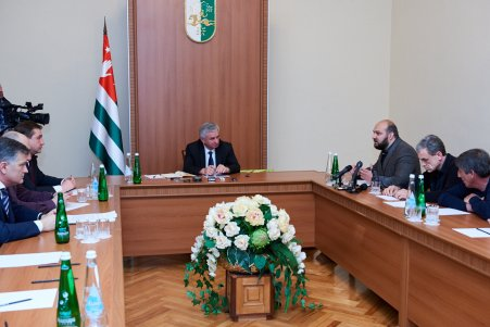 A Meeting with Abkhazian Businessmen