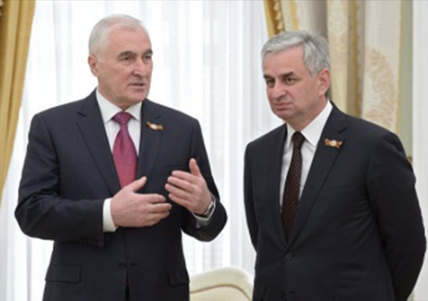 A Meeting with the President of South Ossetia Leonid Tibilov