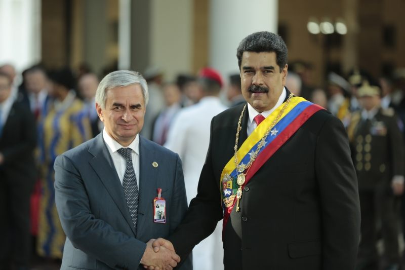 A Meeting with Nicolas Maduro