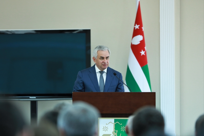 The President's Speech at a Festive Meeting Dedicated to the 25th Anniversary of the Ministry of Foreign Affairs