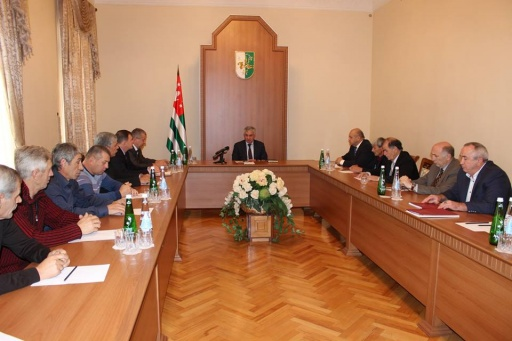 A Meeting with the Veterans of the Patriotic War of the People of Abkhazia – Members of the Volunteer Organisations of the Republics of North Caucasus