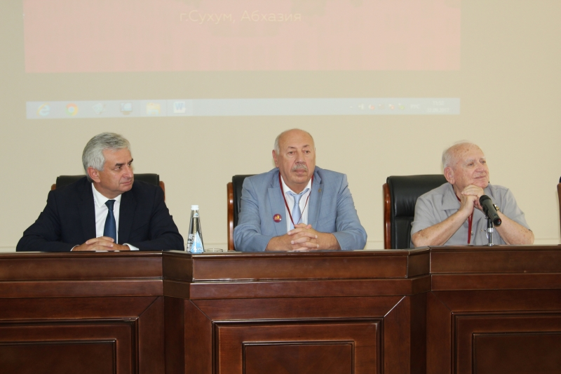 "The President's Speech at a Scientific-Practical Conference ""90 years of the Research Institute of Experimental Pathology and Therapy of the Academy of Sciences of Abkhazia"""