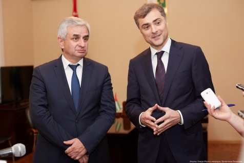 A Briefing on the Outcomes of the Meeting with Vladislav Surkov