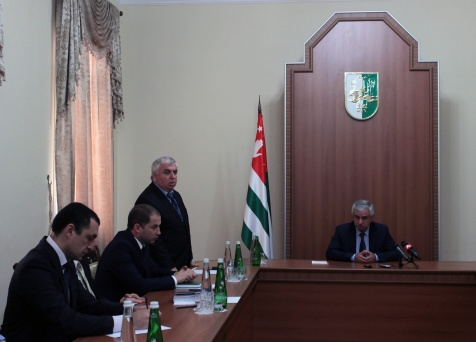 The President Presented the New Head of Administration