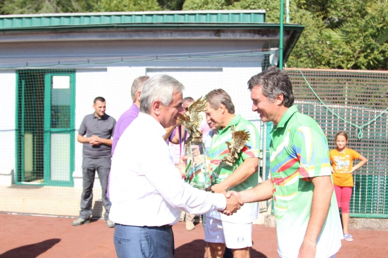 "The President Attended the Closing Ceremony of the XVI Tennis Tournament ""The Big Abkhazian Hat"""