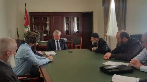 A Meeting with the Representatives of the United Spiritual Administration of Muslims of Abkhazia