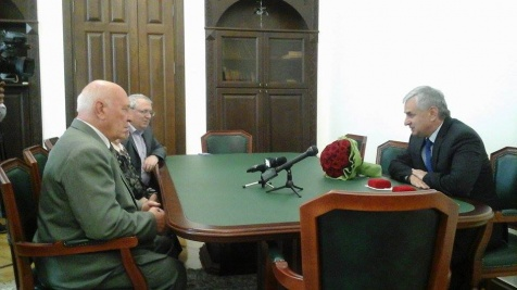A Meeting with Russian Academics