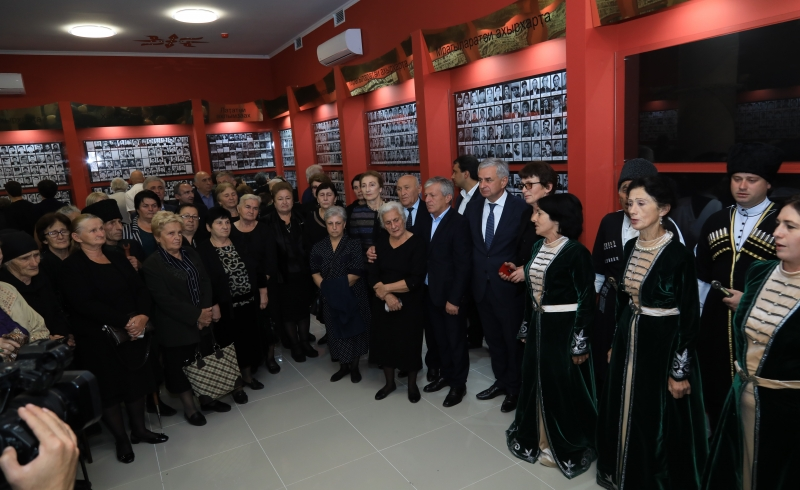 The President Participated in the Opening Ceremony of a New Building of the Museum of the Patriotic War of the People of Abkhazia in Gudauta