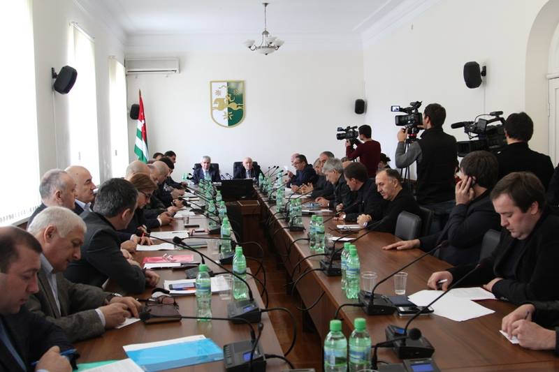 The President Attended a Session of the People's Assembly-Parliament of the Republic of Abkhazia