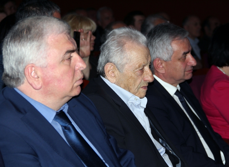 Raul Khadjimba Visited an Event Dedicated to the Birthday of Aleksey Gogua