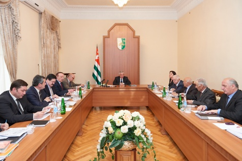 A Meeting of the Committee on the Implementation of the Program of Development of Abkhazian Language