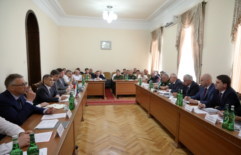 A Meeting of the Security Councils of Abkhazia and Russia under the Chairmanship of the President