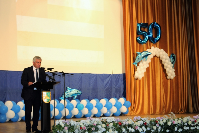 The President's Speech at a Festive Event Dedicated to the 50th Anniversary of the Pitsunda Resort